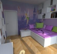 Dětský pokoj Brno-Řečkovice