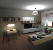 Obývací pokoj Brno